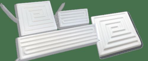 Керамические инфракрасные излучатели плоские ECP
