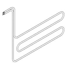 ТЭН погружного типа для гальваники ф.3